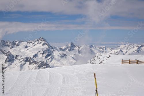 Fotografija ski schi piste