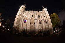 Fisheye View Of The Tower Of L...