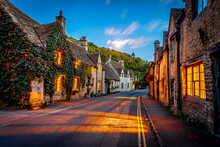View Of Castle Combe Village In England