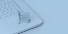 Digital Commerce Concept. Shop...