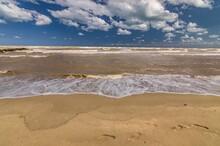 Seascape - Beach And Rough Sea