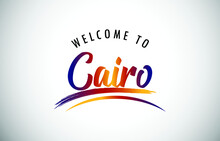 Cairo Welcome To Message In Be...