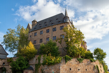 The medieval landgrave castle in Marburg