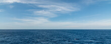 Panorama Background Sea With S...