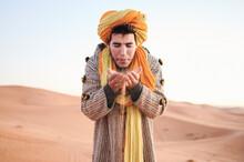 Berber Tribe Male Make Wish Po...