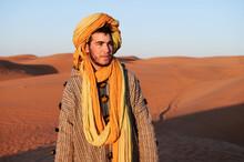 Local Berber Male Looking Away