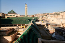Rooftop View Of Fes City Morocco