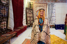 Female Berber Traditional Wedding Costume Morocco