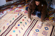 Shopping Carpets In Morocco