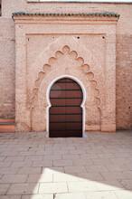 Traditional Moroccan Door Facade, Morocco