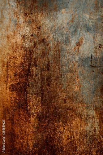 rusty metal textured background