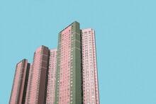 Pastel Skyscrapers