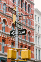 Prince Street (Soho, New York ...