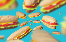 Flying Sandwiches