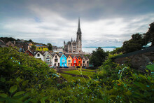 Colorful Village, Cobh, Cork County, Ireland