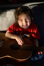 Little Kid With Guitar