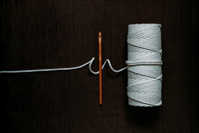 Bamboo Hook And Cotton Cord