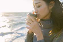 Young Women Enjoying Coffee Ti...