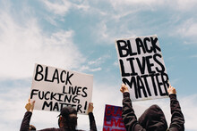 Protest Signs For Black Lives ...