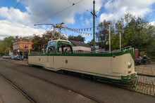 Vintage Tramway From Blackpool