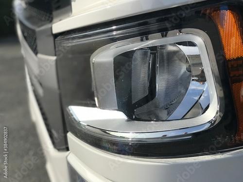 Fototapeta close up of a car obraz na płótnie