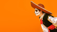 Attentive Mexican Skeleton
