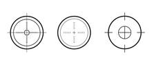 Target Aim Icons Military Set....