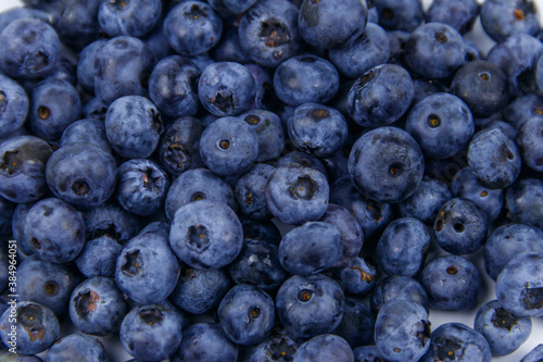 Papel de parede Background of the fresh blueberries