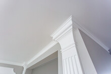 Detail Of Corner Ceiling With ...