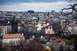 Charles Bridge and Prague skyline