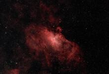 Photograph Of The Eagle Nebula...