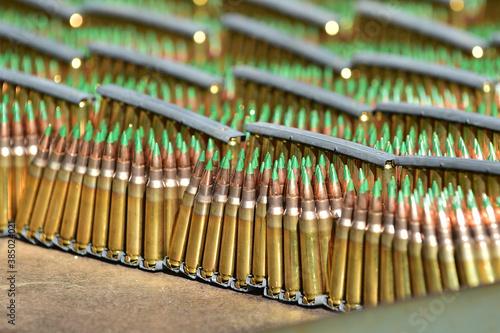Papel de parede Live ammunition of a K-2 rifle