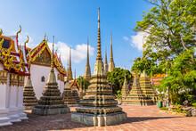 Wat Pho (Temple Of The Reclining Buddha), Bangkok, Thailand