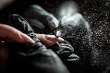 Closeup Automatic Electric Manicure Drill Polish Remover For Nail Women. Beautician Salon, Manicure, Nails Polish Procedure, Manicure, Nails Polish Procedure, Hardware Manicure, Electric Nail