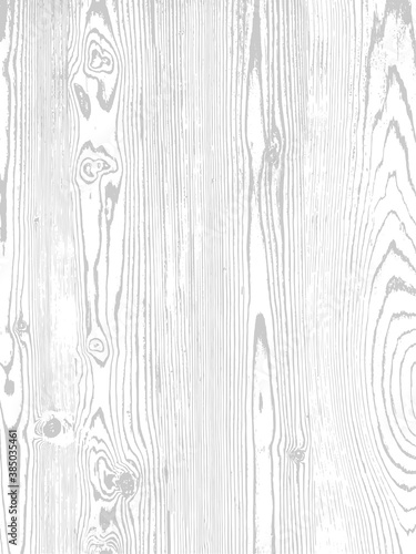 Tablou Canvas Vector wood texture. Natural material on white background.