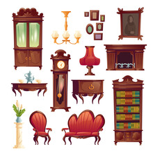 Victorian Living Room Stuff, O...