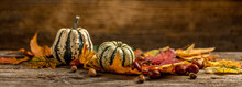 Autumn Still Life Concept With...