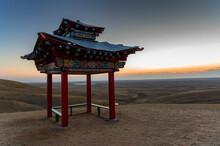 Pagoda For Meditation Or Gazeb...
