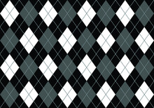 Seamless Vector Argyle Pattern Background