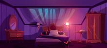 Luxury Bedroom Interior On Att...