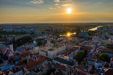 Opole Aerial View. Opole City ...