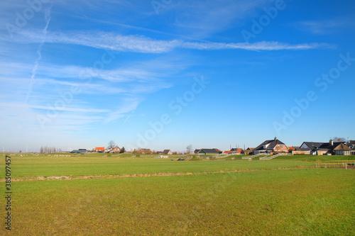 Fotomural Dutch landscape polder Eemdijk