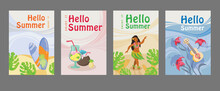 Collection Of Summer Posters W...