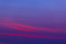 Clouds In The Sky Before Sunri...