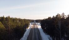 Picturesque Landscape Of Road ...