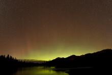 Aurora And Night Sky