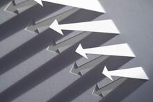 Paper Arrows With Long Diagona...