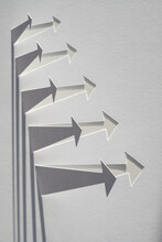 Graphic Paper Arrows