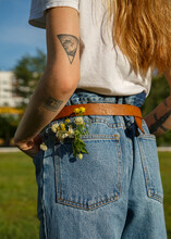 Bouquet Of Wildflowers In Your Pocket
