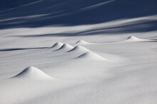 Snow Hills In The Alpstein Mou...